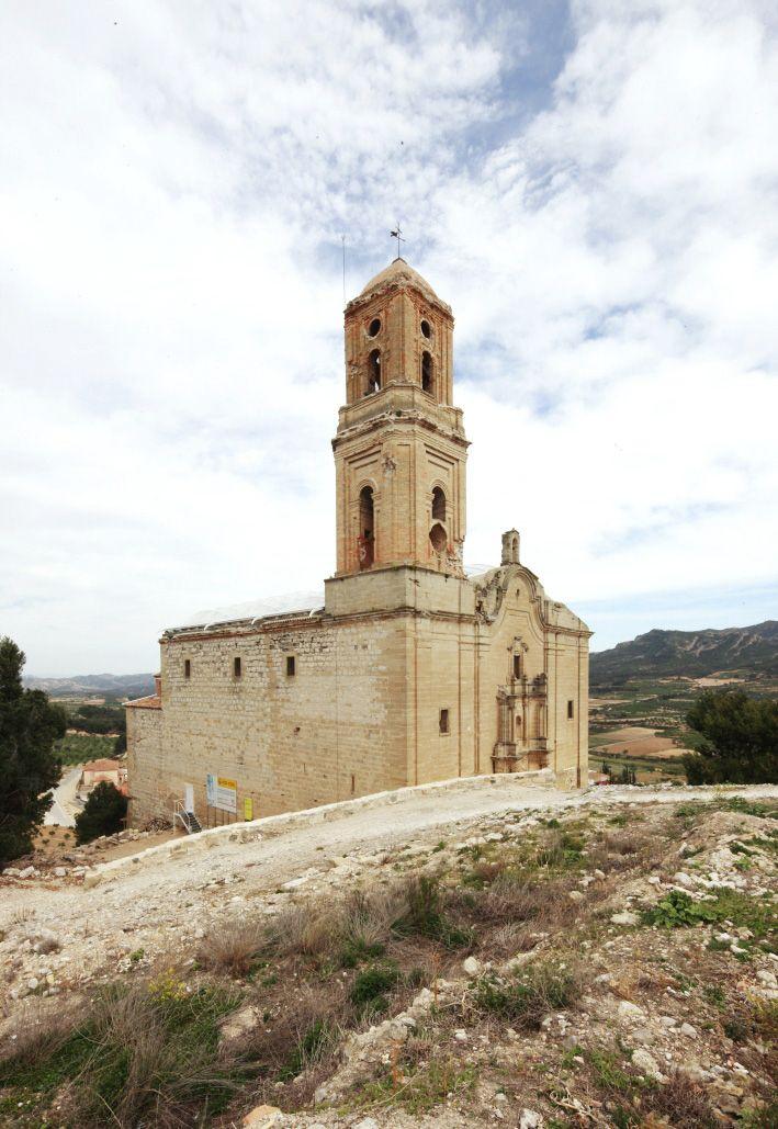 Iglesia de Corbera d'Ebre. Tarragona.