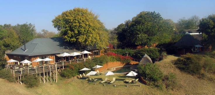 Arial view of Sable Camp