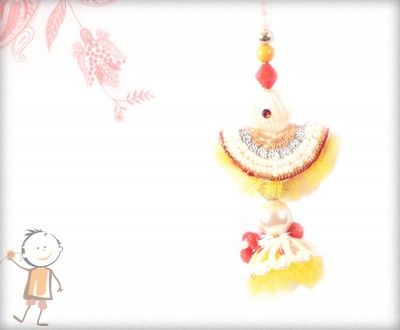 Lumba Rakhi - Send Online #Lumba #Rakhi – online rakhi. PREMIUM YELLOW NET PEARL LUMBA, surprise  loved ones with roli chawal, chocolates and a greeting card as it is also a part of our package and that too without any extra charges. http://www.bablarakhi.com/