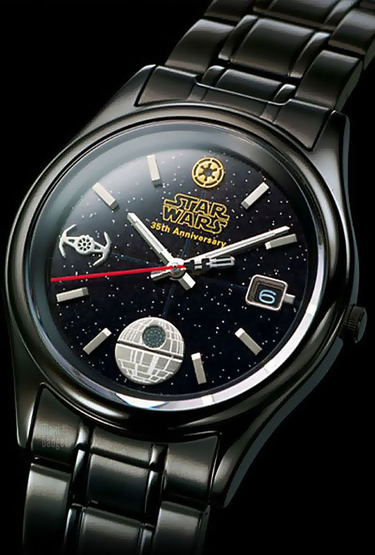 Darth Vader Watch - 35th Anniversary of Star Wars.. I would love to get this for Chris but it is $1000!
