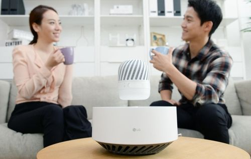 LG Electronics introduces floating Bluetooth speaker