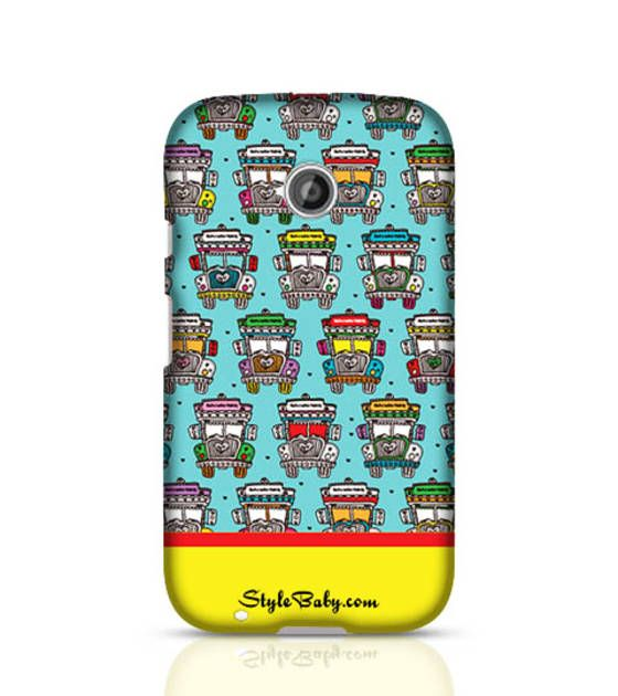Shopo.in : Buy India Road Colorful Truck Moto E(2nd Gen) Stylebaby Printed Phone Case online at best price in Bengaluru, India