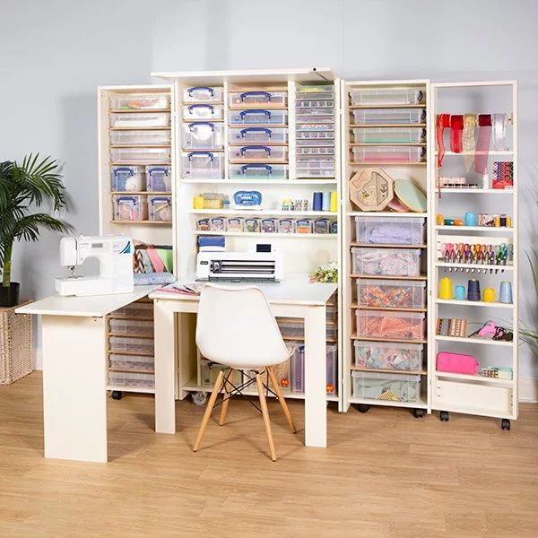 Find The Best Craft Cabinet With Table To Suit You 4 Units In 2020 Craft Cabinet With Table Craft Storage Storage Boxes