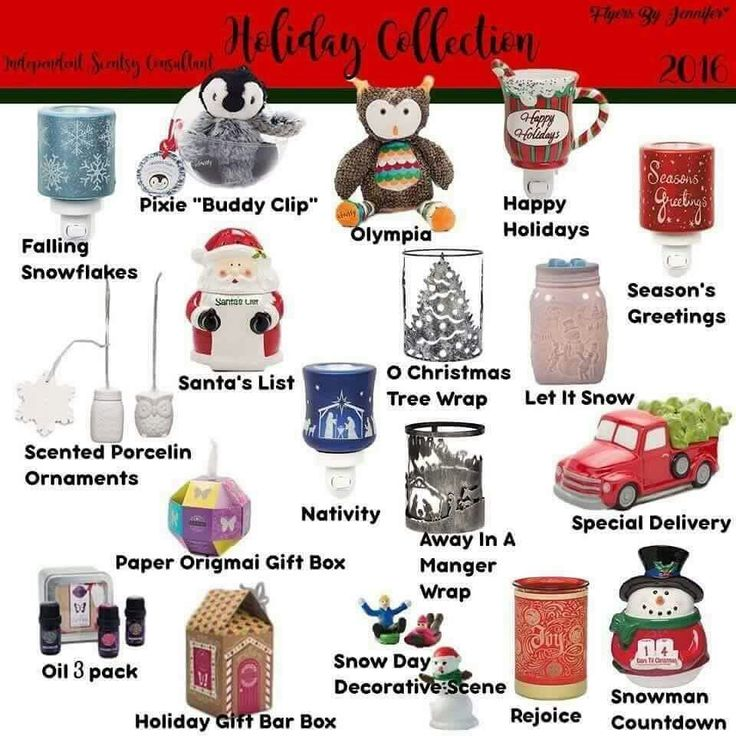 2016 Holiday Collection www.nackersviller.scentsy.ca