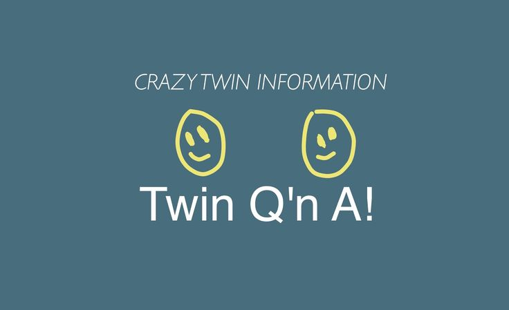 CAN TWINS HAVE TWINS? SAME BLOOD TYPE? ANSWERED! Enjoy the new Blog Post!  #blog #twin #twins #twininfo