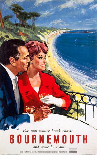 Vintage Bournemouth Tourism Poster - Google Search