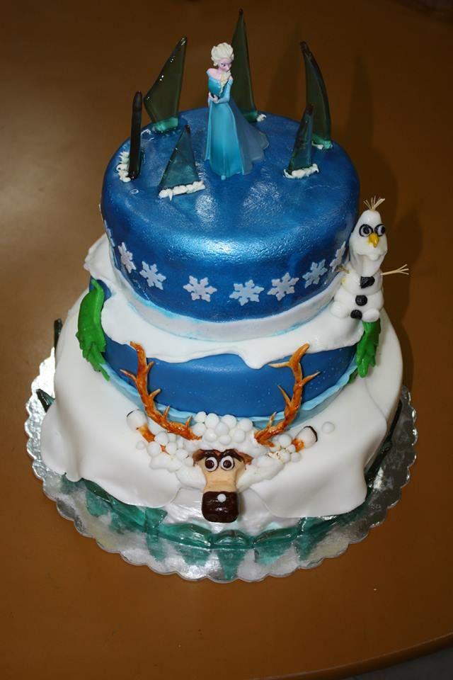 Fondant Frozen cake