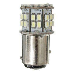 Lumiere de frein – TOOGOO(R)2x 1157 BAY15D T25 P21/5W 50 SMD 1206 LED Feu arriere /Lampe de spot/lumiere de frein Xenon lampe Blanc