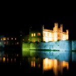Leeds Castle's Night from U.K