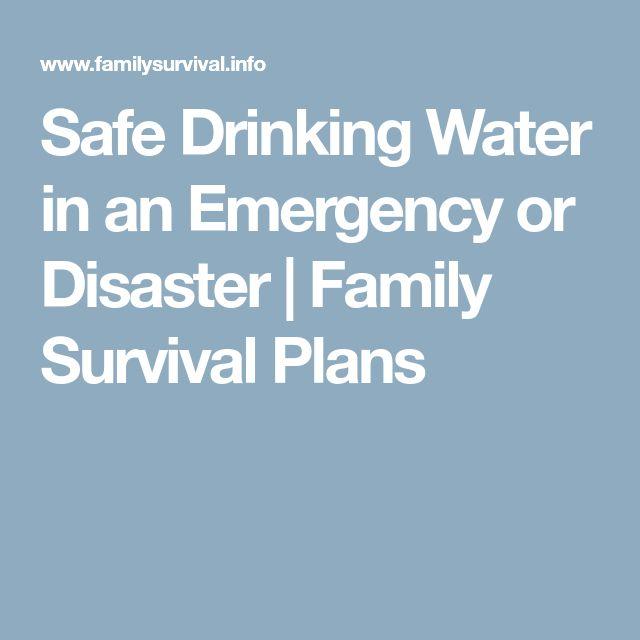 Best  Safe Drinking Water Ideas On   Drinking Water