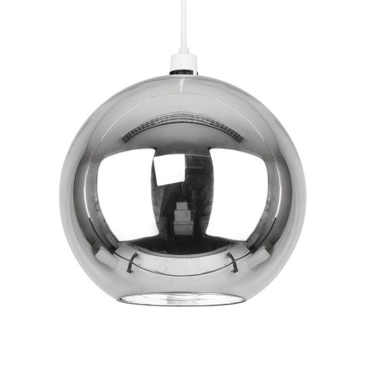20 best lighting images on pinterest ceilings ceiling lights modern silver chrome glass globe ceiling light lamp shade fitting lights shades aloadofball Gallery