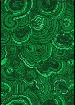 I adore this new emerald green wallpaper from Robert
