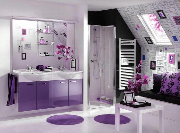 20 beautiful purple bathroom ideas