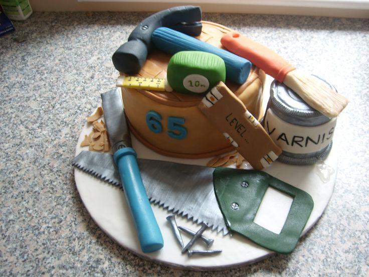 57 Best Carpenter Cake Images On Pinterest Birthday Cake Birthday