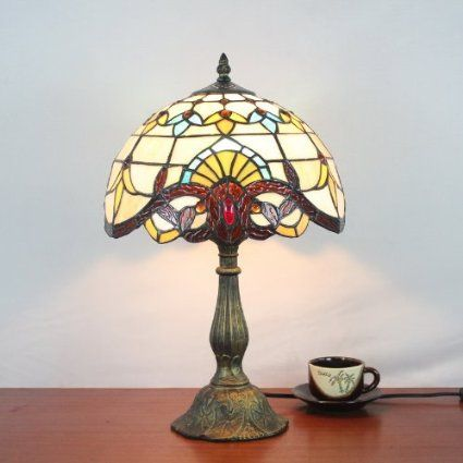 tiffany lampe de table baroque europ enne chambre lampe
