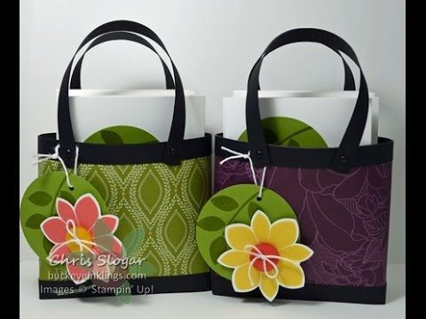 designer purse parties at home. Cute idea for a Hawaii themed party take home fill with tropical friuts or  candy Note Card Totes made Stampin Up Petal Potpourri Crazy About You 121 best paper purses images on Pinterest Paper boxes Boxes and