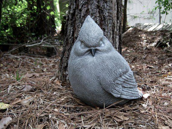 Concrete Bird Outdoor Statues, Outdoor Bird Statues