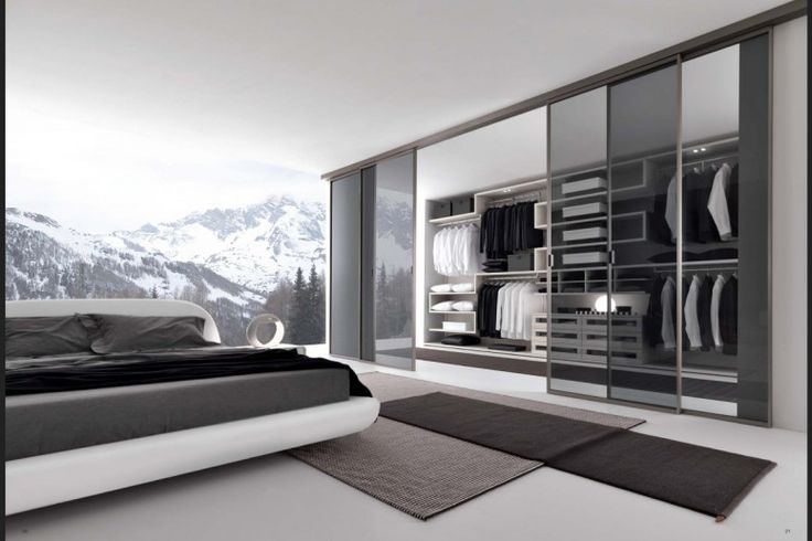 Modern Walk In Wardrobe closet and wardrobe designs. modern grey bedroom walk-in closet