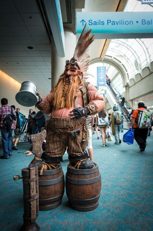 Best cosplay Comic Con New York 2014 - Dwarf Warcraft
