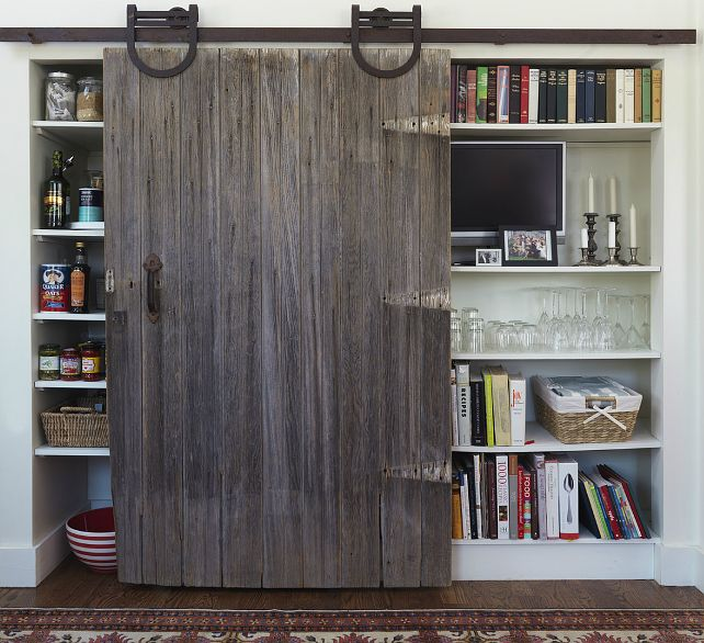 I Love Old Salvaged Doors As Interior Sliding Doors From