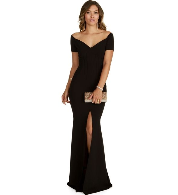 Hailey Black Formal Dress