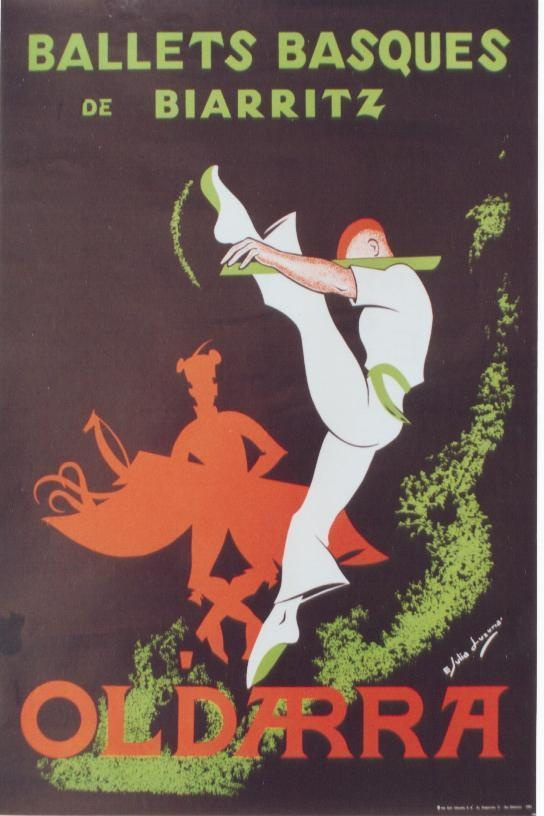 Ballets Basque Poster