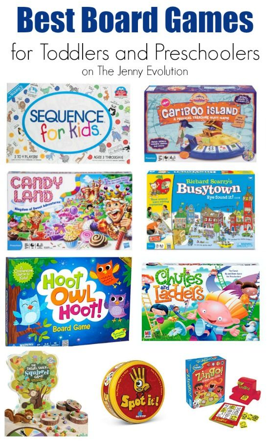 Best Board Games for Toddlers and Preschoolers + Bonus! Card Games for Toddlers | The Jenny Evolution