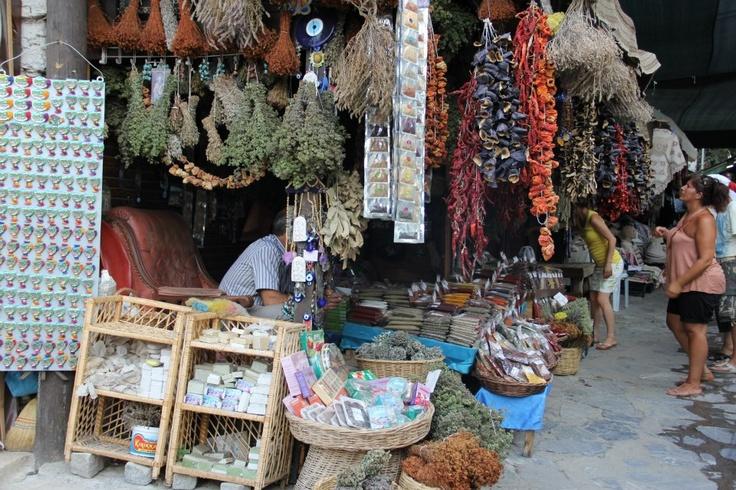 A store in Şirince