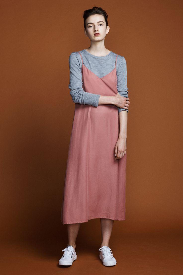 Slip Dress - Antique Rose