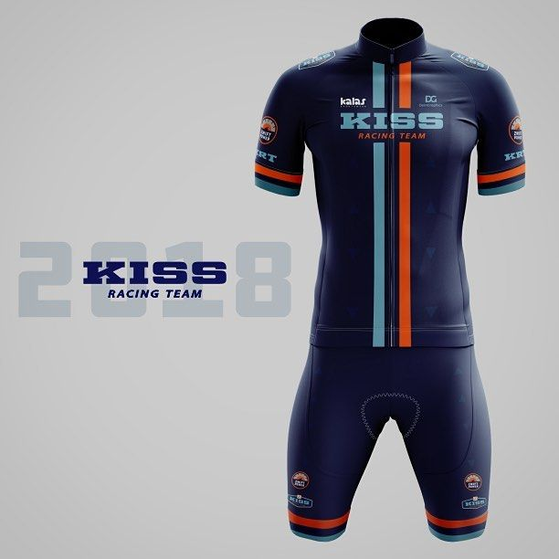 Cycling Kit design for KISS Racing Team 244c8559d