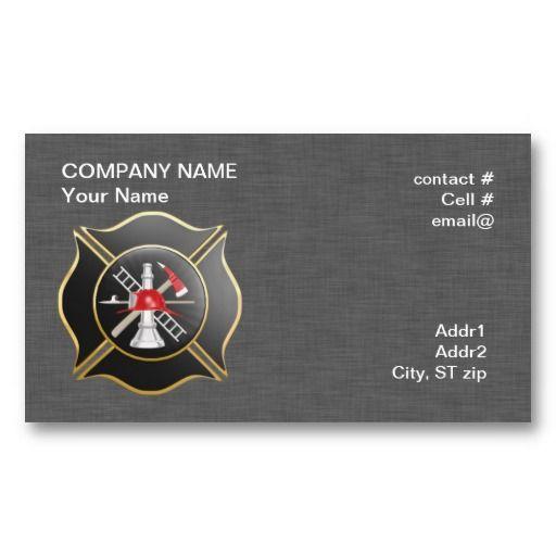 20 best fire department business cards images on pinterest black maltese firefighting cross business cards colourmoves
