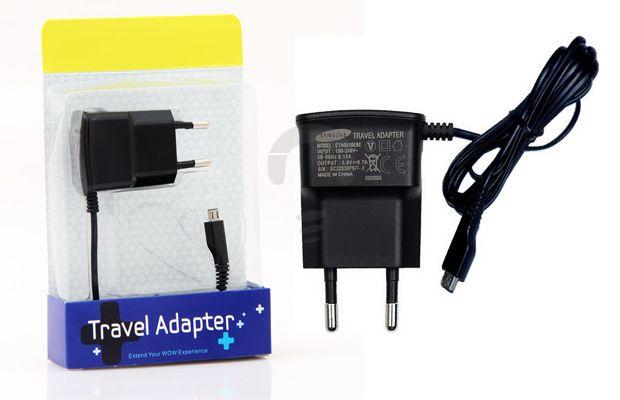 Original Travel Adapter Samsung EBE adalah charger yang harus dimiliki bagi anda yang sering bepergian atau memiliki mobilitas tinggi. Karena dengan travel adaptor ini dapat mengisi baterai gadget anda dimana saja. Sehingga anda tidak perlu khawatir atau bingung ketika baterai anda habis ditengah perjalanan karena Samsung travel adaptor ini bisa dicolok di berbagai jenis stop kontak