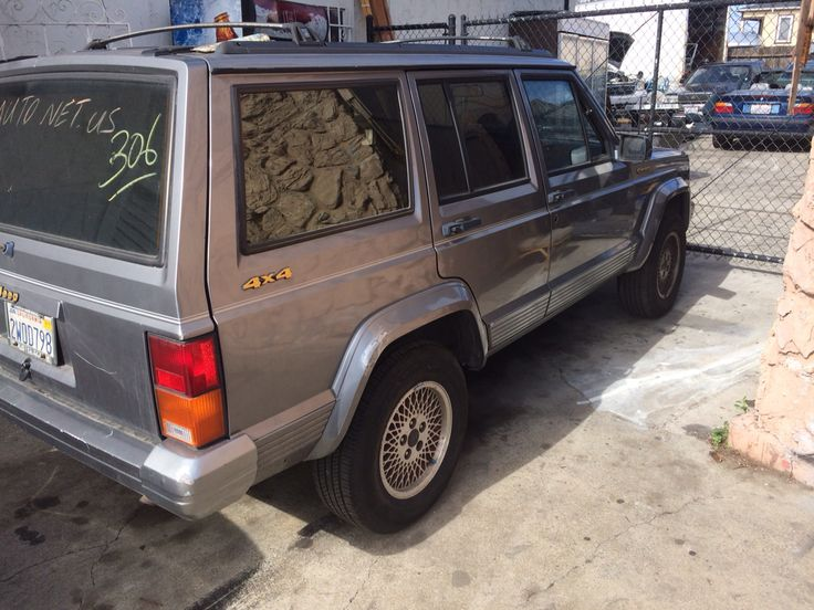 1991 jeep Cherokee 4x4 ca rust free 129000 police impound special