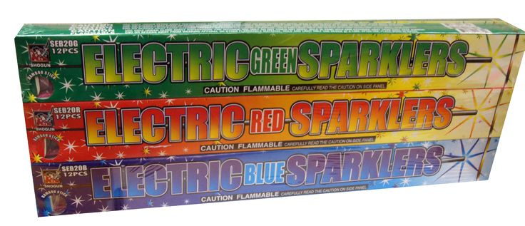 Sparklers #20 Color Bamboo | NCI, Inc. Indiana Fireworks Wholesale