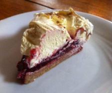 Rezept Spekulatius Kirsch Kuchen von Pino's Mami - Rezept der Kategorie Backen süß