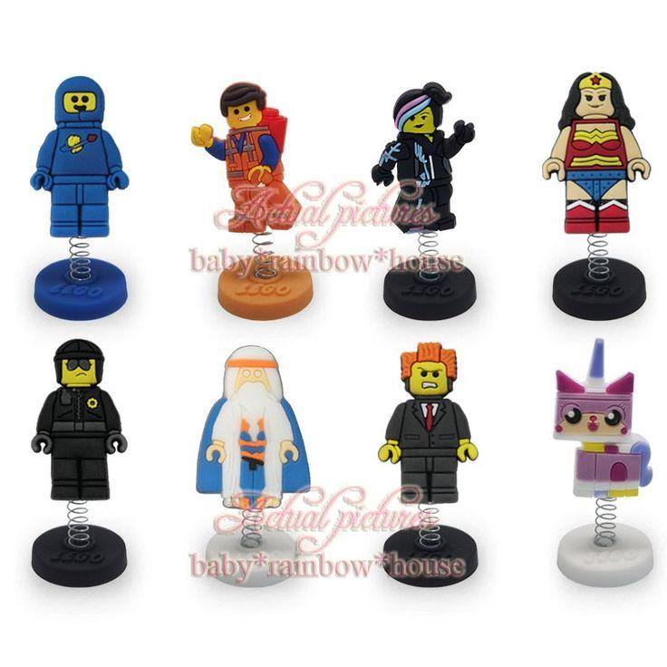 8 шт./лот  лего  мультфильм пвх весенние куклы фигурки игрушки куклы бюро стоят дисплей владельца детские ну вечеринку подарки