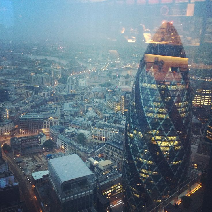 Duck and waffle 24hrs heron tower london