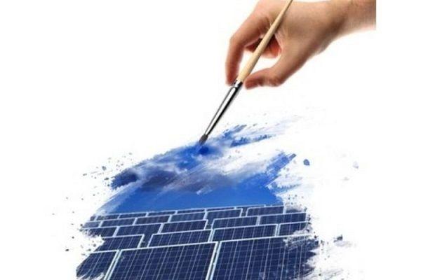 Pintura solar con energía del vapor de agua