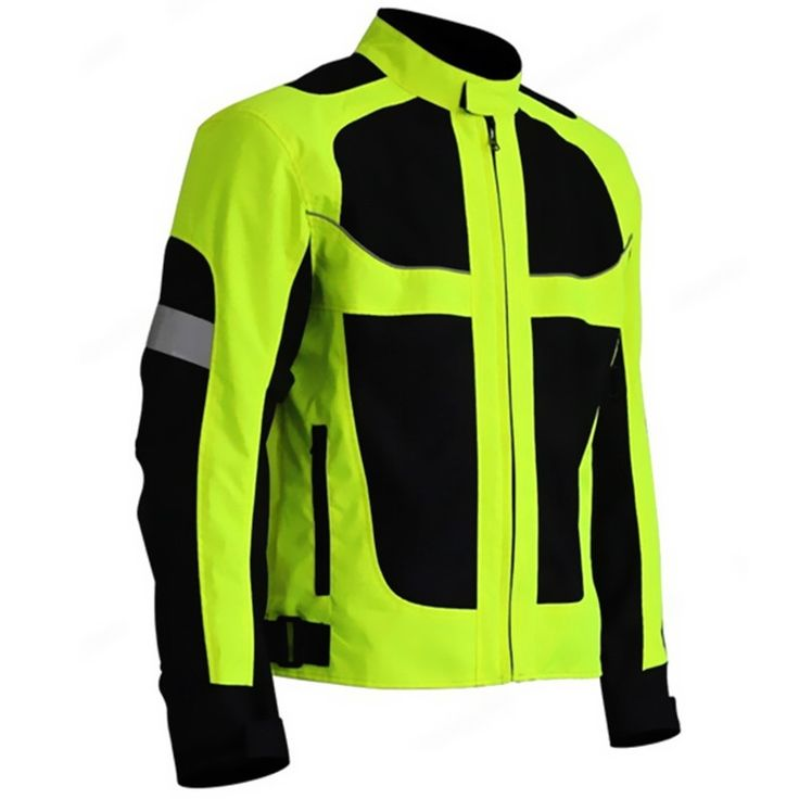(61.10$)  Buy here  - Men's Summer Motorcycle Jacket Motocross Racing Reflective Safety Jacket Sportswear Protective Gear Fluorescent Green Jacket