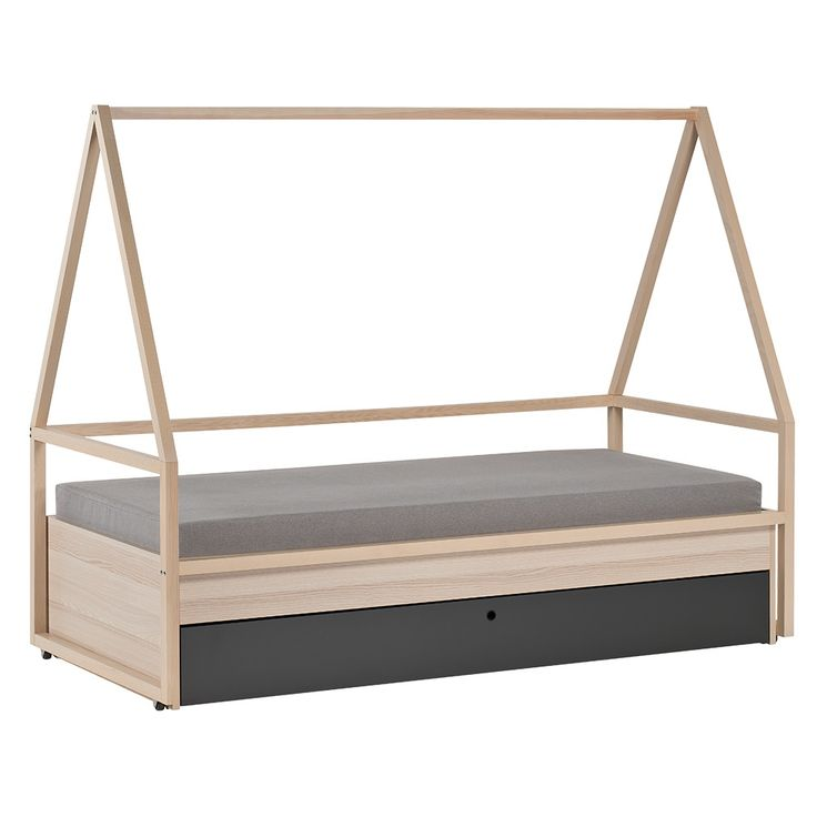 SPOT KIDS TIPI BED & TROLLEY with Trundle Drawer