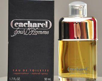 Cacharel Pour Homme Eau De Toilette Edt 50ML Prima Versione Vintage Raro 1981