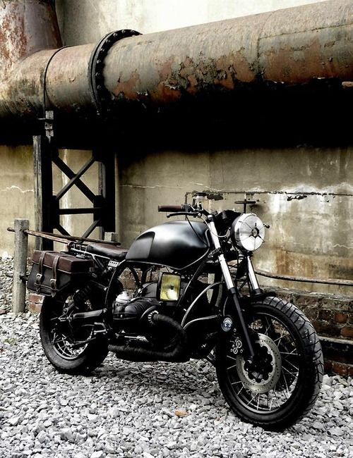 BMW Scrambler #motorcycles #scrambler #vintage | caferacerpasion.com