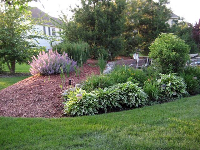 65 best images about berm and mound landscaping on for Large lot landscaping ideas