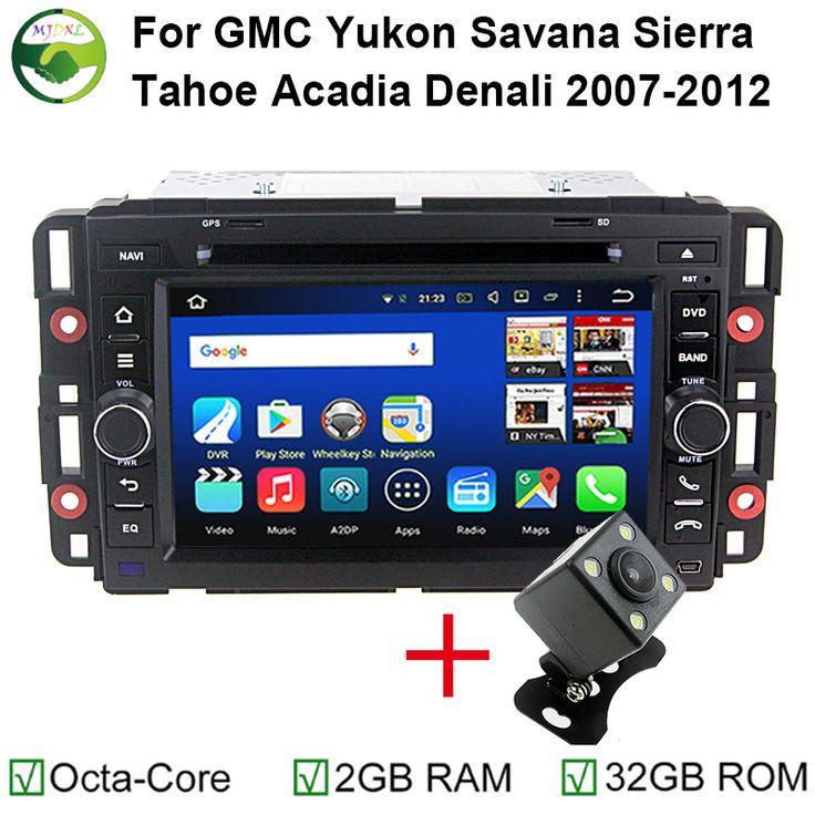 Android 6.0 Octa Core 64-Bit 2GB RAM Car DVD Head Unit For Chevy Chevrolet GMC Tahoe Yukon Sierra Savana Acadia Denali Radio GPS