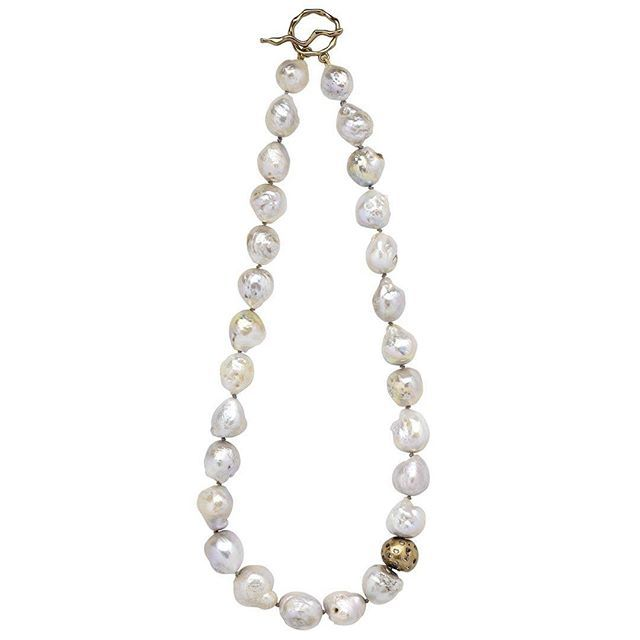 Cloud Celestial necklace. #juliecohndesign #dallasjewelry #dallasjewelrydesign #neckalceswelove #pearls #pearlnecklace #gregmilanophotography