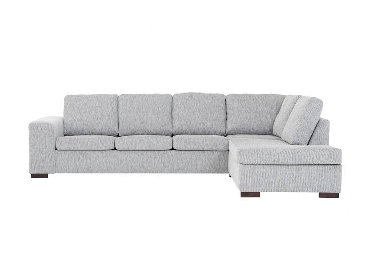 CONNECT L-Soffa Ljusgrå i gruppen Inomhus / Soffor / ALLA SOFFOR hos Furniturebox (110-28-62665r)