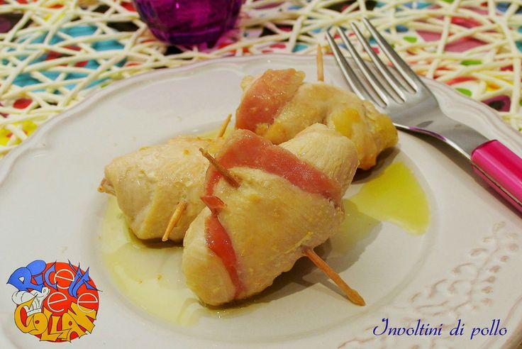 Gli involtini di pollo, ricetta semplice, arricchiti con speck e formaggio, piacciono proprio tutti, provare per credere!