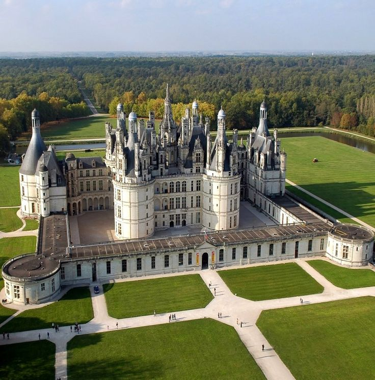 Chambord Castle, Loire Valley, France