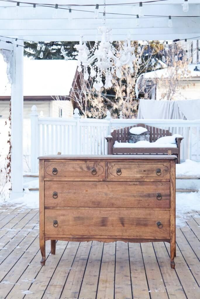 6 Steps To Refinish Antique Furniture To A Natural Or Raw Wood