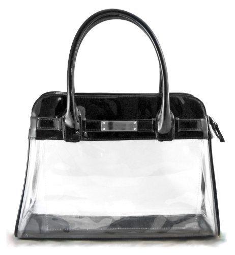 "Clear Handbag ""Chloe"" - Black Patent Leather Clear Handbags & More,http://www.amazon.com/dp/B006MXXCHC/ref=cm_sw_r_pi_dp_ZRYvtb12TJN5RFG3"